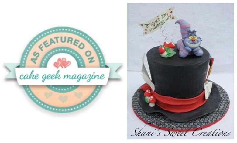 Alice in wonderland cake - publications