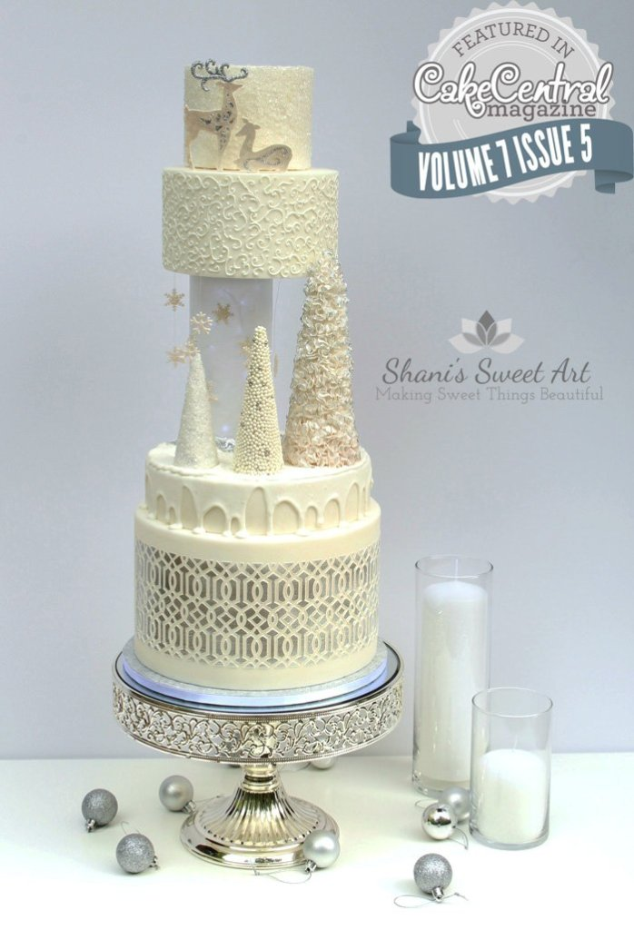 White wedding cake - publication