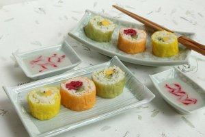 Delicious Dessert Sushi