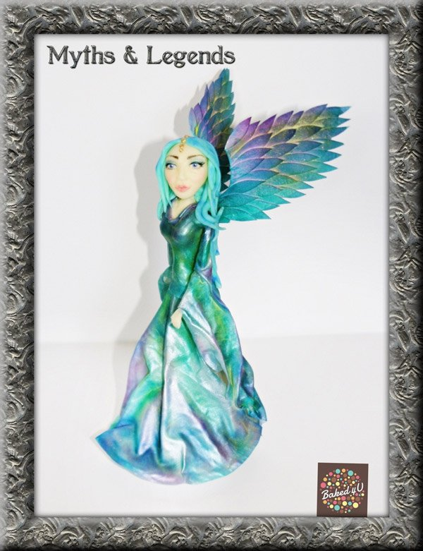 Myths & Legends cake collaboration