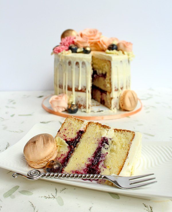 How To Fill A Cake With Fruit Filling