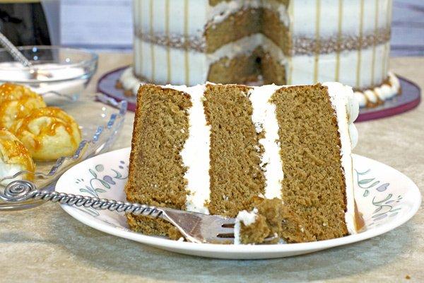 Rich Decadent Cappuccino Cake