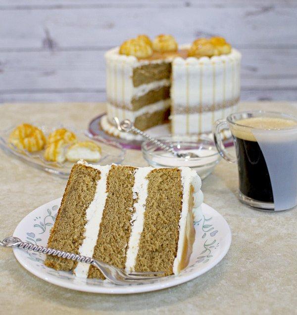 cappuccino cake recipe