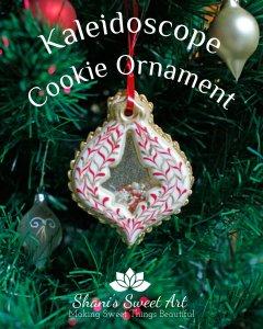 Kaleidoscope Cookie Ornament Tutorial