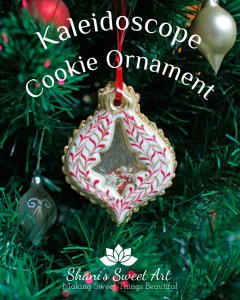Kaleidoscope Cookie Ornament Tutorial