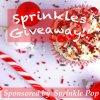 Sprinkle Pop giveaway