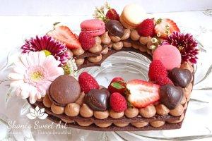 Chocolate Raspberry Cream Tart Tutorial & Recipe