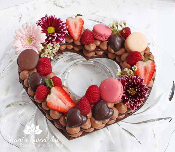 Chocolate Raspberry Cream Tart Recipe