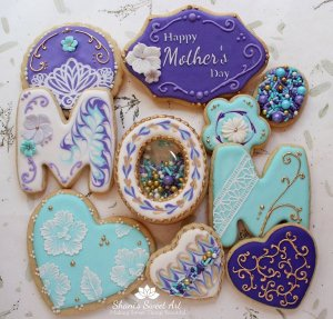 Make Beautiful Mother's Day Cookies