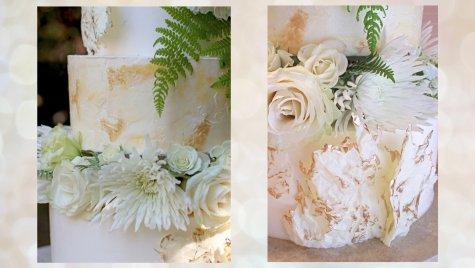 modern buttercream wedding cake tutorial