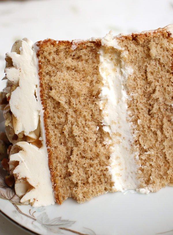 Light & Fluffy Spiced Sponge Cake Recipe
