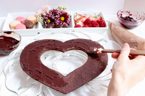 raspberry chocolate ganache recipe