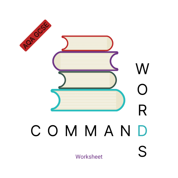Command Words Worksheet AQA GCSE