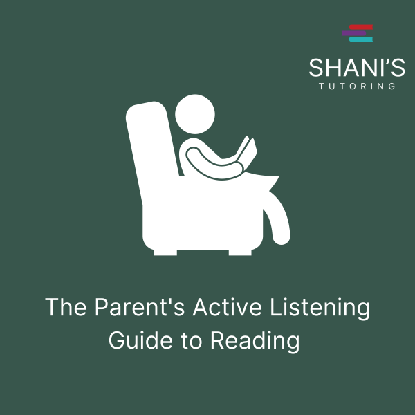 The Parent's Active Listening Guide to Reading - Green Cover Image