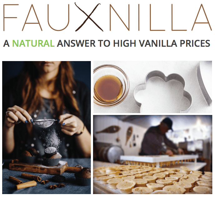 Fauxnilla is a 1:1 NATURAL replacement for pure vanilla extract