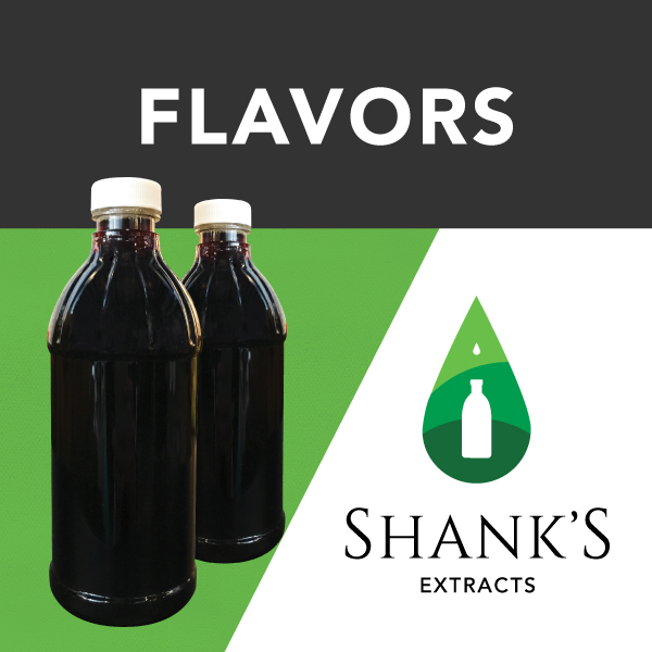 Shank's Extracts, A Trusted Resource For All Your Flavoring Needs.