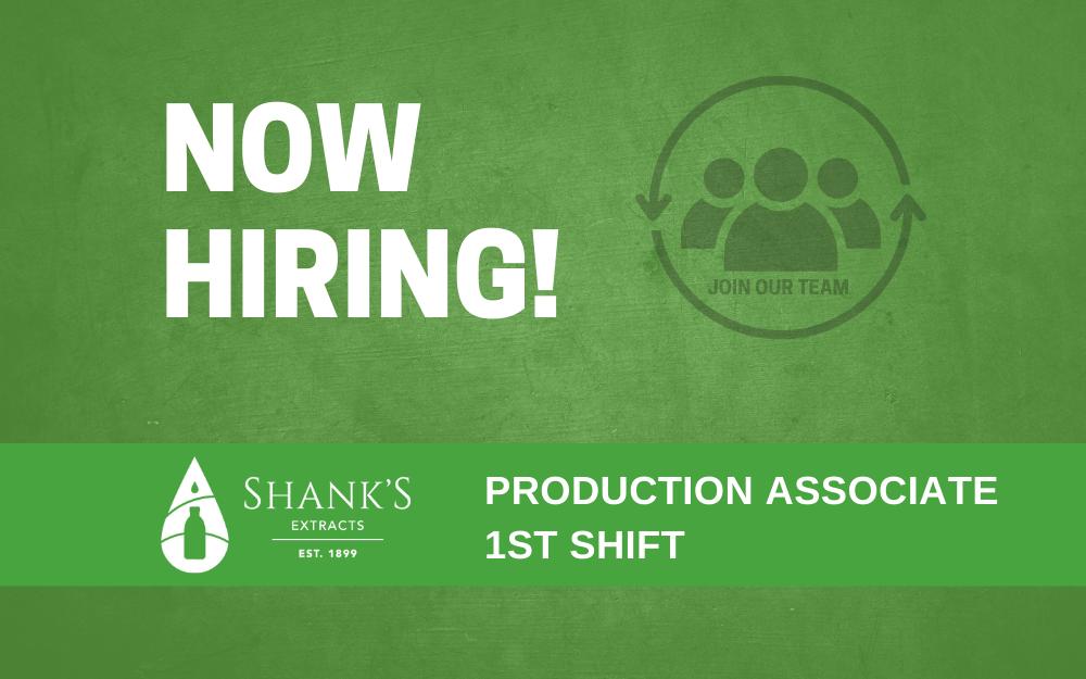 Production Associate 1st Shift