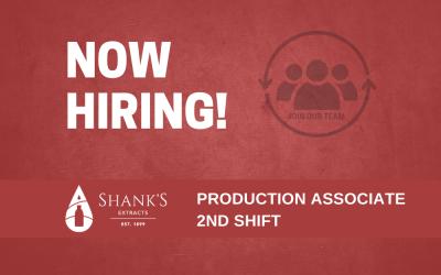 Production Associate 2nd Shift