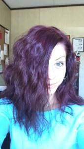 Purple hair don't care.