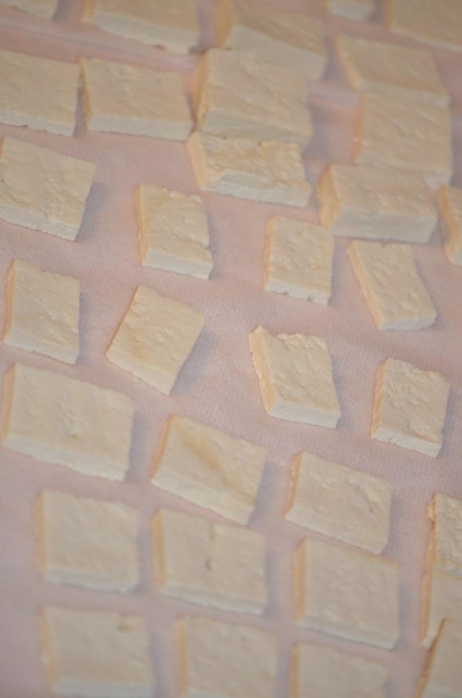 Pressed, Drained Tofu