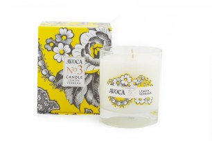 This is one of Avoca's original candle designs. It's simple and has a luxurious feel to it.