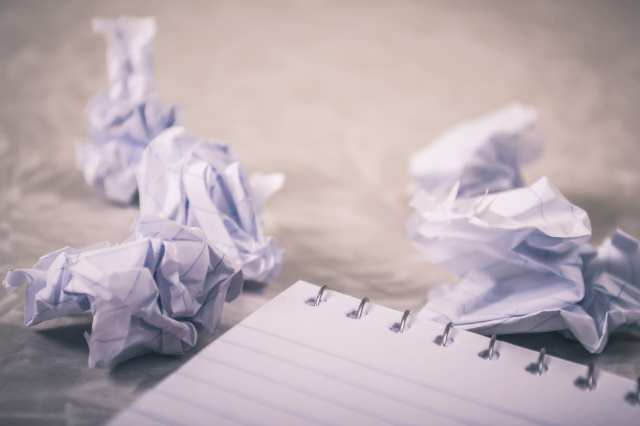 close up photography of crumpled paper