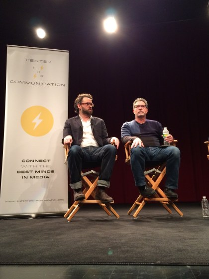 """Discussion on writing and production the Showtime series """"Billions"""""""