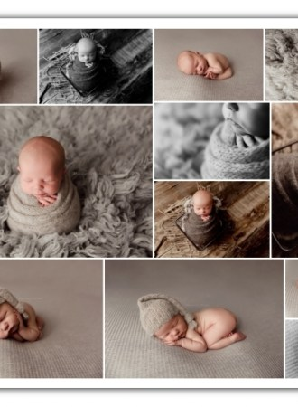 newborn boy session; grey and neutal colors