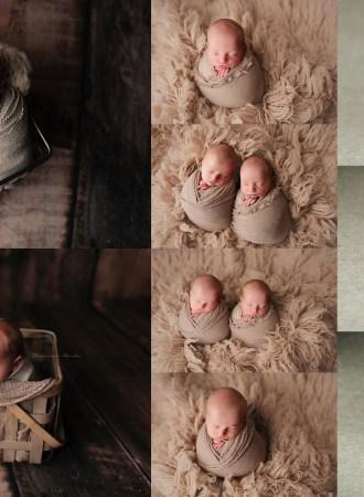 Phoenix Twin Newborn Photographer | Stevens