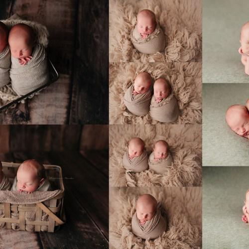 Phoenix Twin Newborn Photographer | Stevens