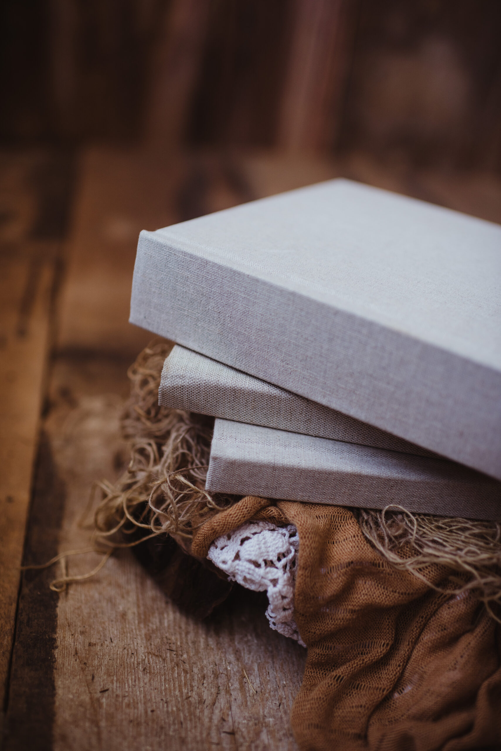 Our 8x8 heirloom albums are simply the best wrapped photo book available. Together, we carefully create the perfect spreads with you. Without a doubt, you will love this amazing product!