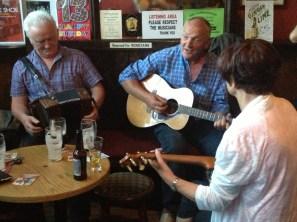 Pat Goode and friends at Cobblestone Pub