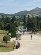 The Garden of the Powerscourt House, south of Dublin...