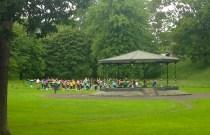 ...yoga in Phenix Park...