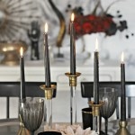 Sophisticated Spooky Halloween Tablescape + Cocktail