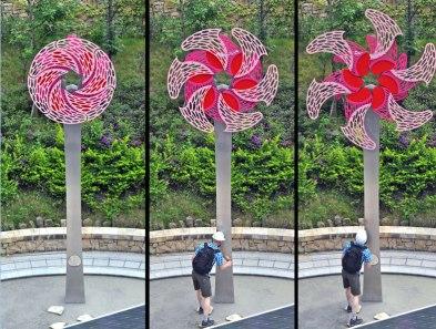 """Daan Flower"" by Pete Beeman. From my time as an assistant at Pete Beeman Artworks."