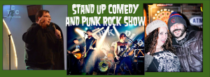 Stand up comedy and punk rock show Sep 12 2015