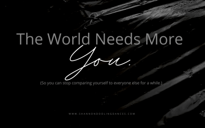 #MonthlyMessage: The World Needs More You