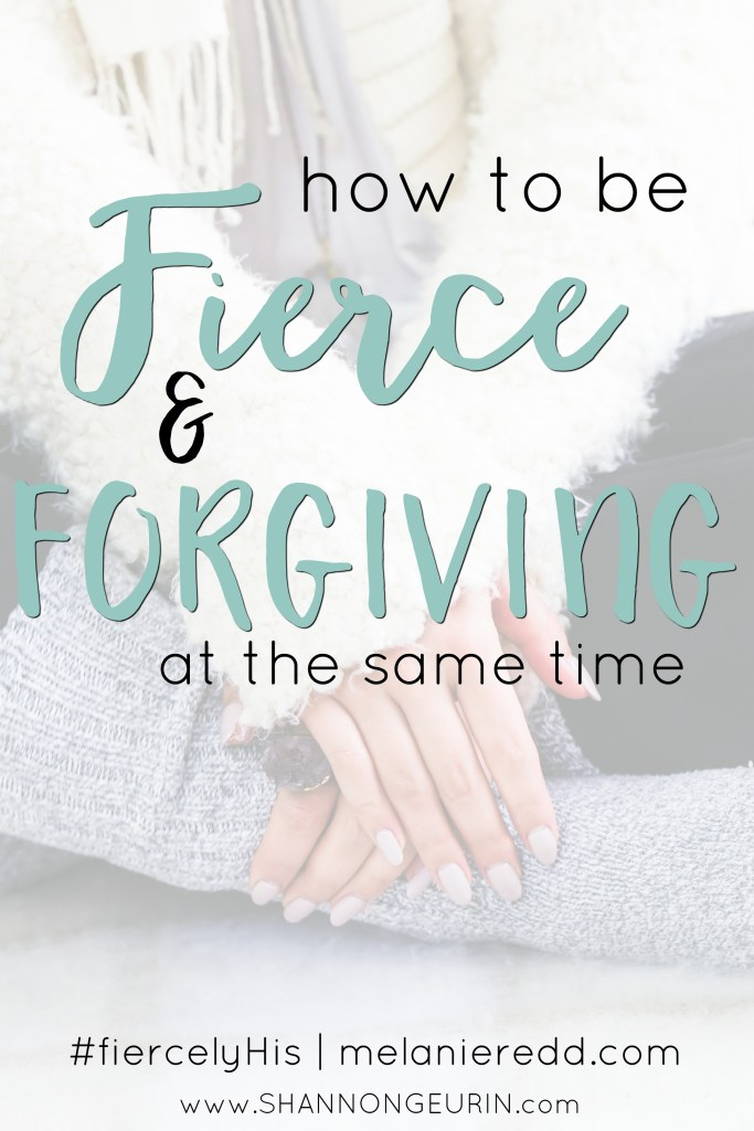 How can we be fierce and forgiving at the same time? All of us have relationships, friendships, and situations in which we get wounded. Even fierce women get hurt. How do we handle the pain? Here are some very wise and practical steps you can take to forgive those who have hurt you and move on with your life!