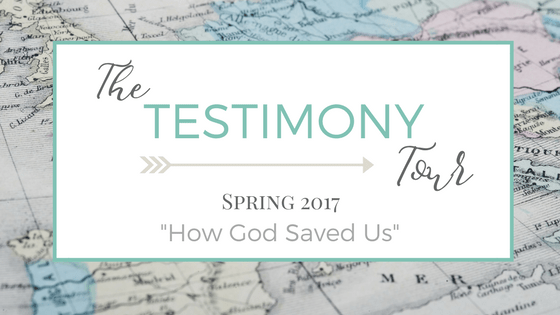 The Testimony Tour | Why I believe