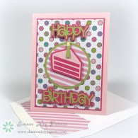 Piece of Cake Birthday Wishes