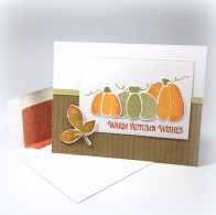 Warm Autumn Wishes – Fusion Card Challenge