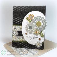 Simply Said – Fusion Card Challenge Woodgrain Neutral