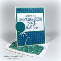 Bold Balloon Adventures Birthday Card Ideas - Shannon Jaramillo Stampin Up