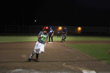 The AAA Concrete team took on the Dick's Food Store Little League baseball team in the Semi Final Championship on the Roy High Field at the Victoria Youth Sports Complex.