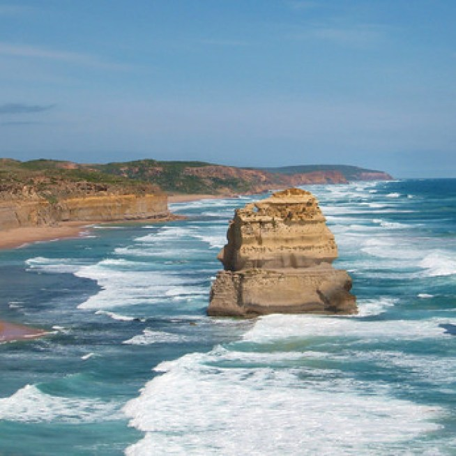 12 Apostles on the Great Ocean Road in Australia.