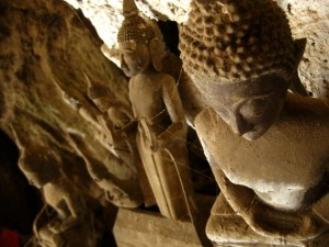 The Buddhas at the Pak Ou Caves
