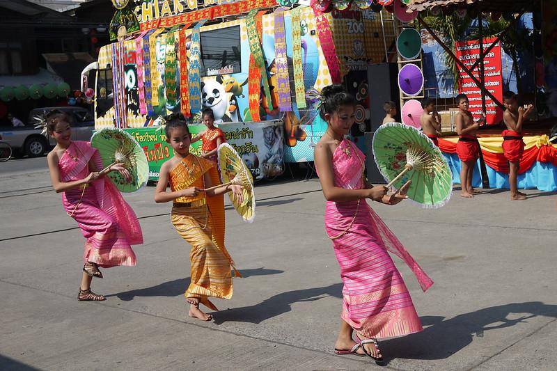 Bo Sang Umbrella Festival, Thailand