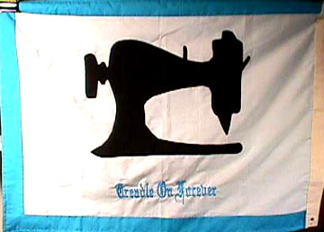 Official flag of the Treadle On angels