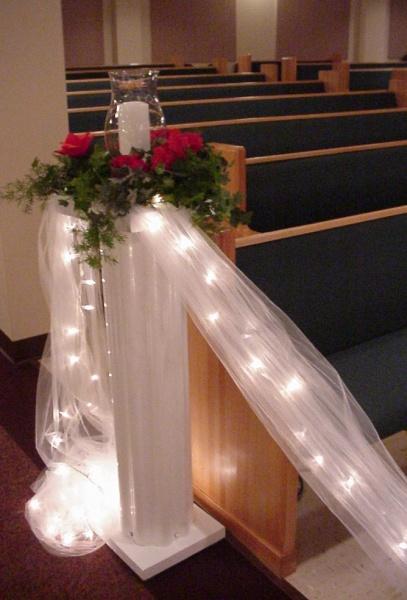 Shannons Custom Florals columns Wedding Rentals Springfield MO Eureka Springs (3)
